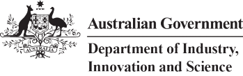Australian Government, Department of Science and Industry logo