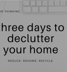 FULL - Three days to declutter your home webinar