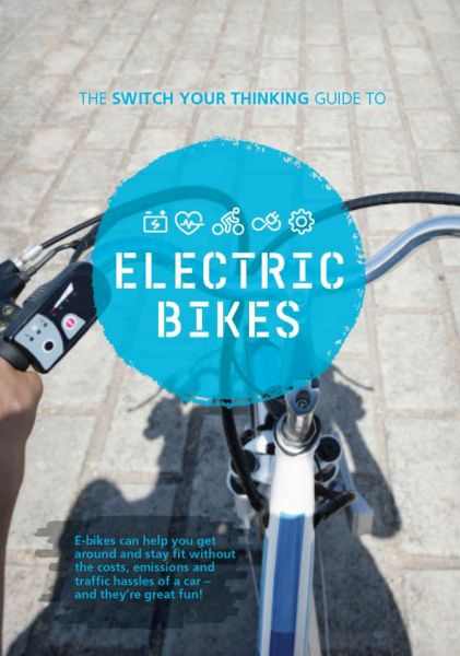 Switch your thinking guide to electric bikes