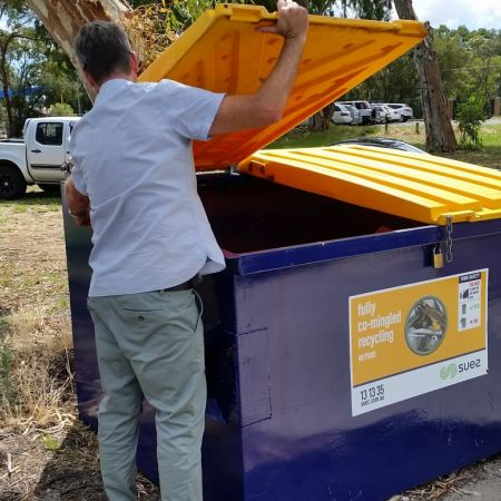 Paper recycling at Thornlie Senior High School